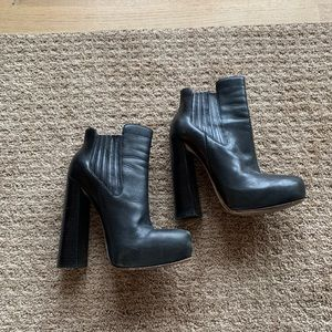 Alexander Wang Leather Bootie - Authentic